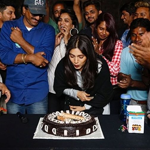 Bhumi Pednekar receives sweet surprise from 'Durgavati' team, thanks them for making her feel 'special'