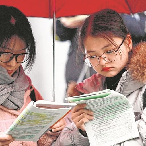 China moves away from paper-reliant academic evaluation system