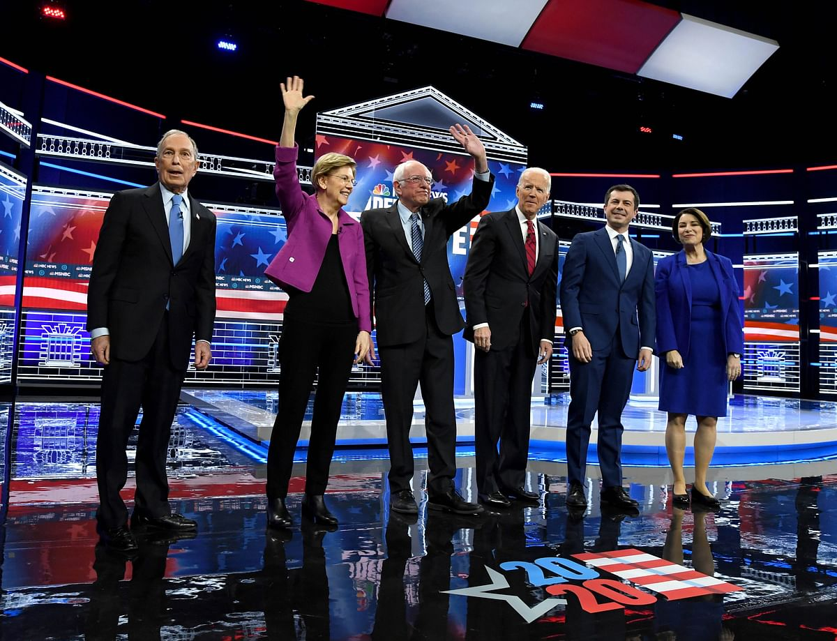 Bloomberg, Sanders lock horns during Democratic debate 2020