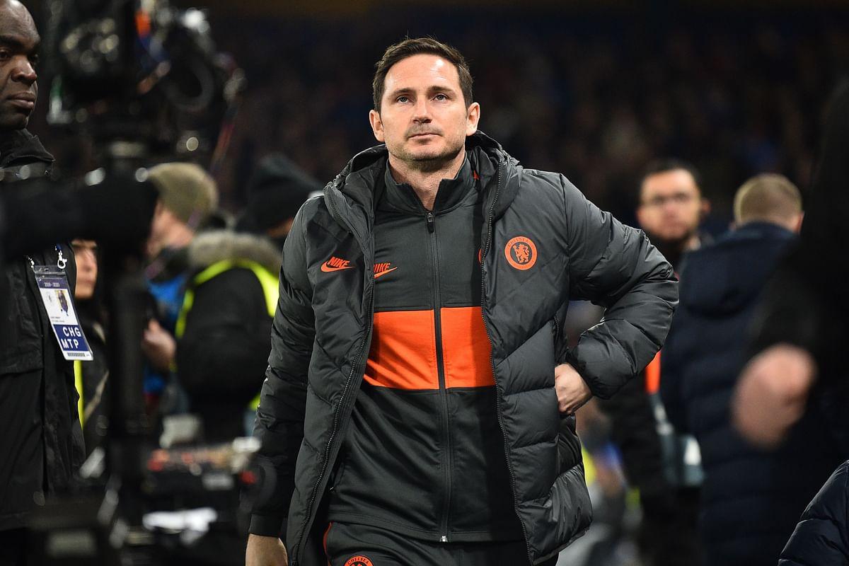 Chelsea coach Frank Lampard
