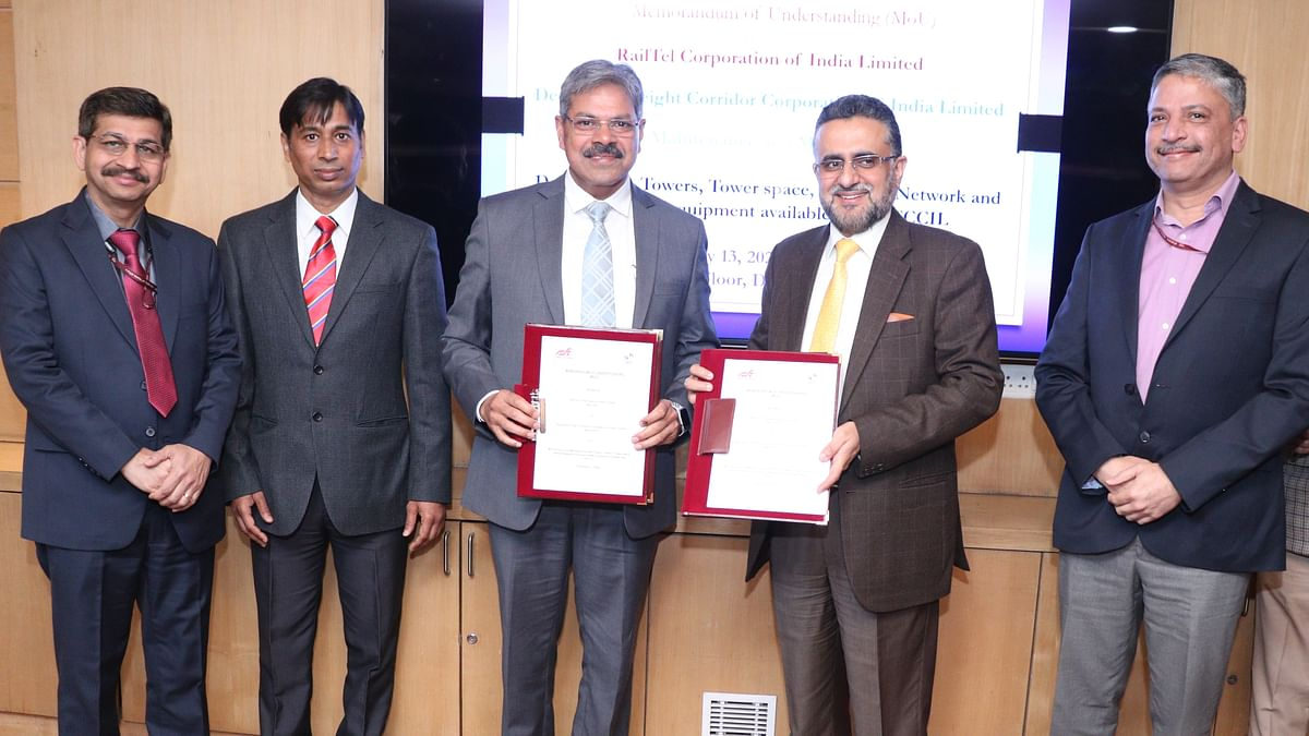DFCCIL inks MOU with RailTel