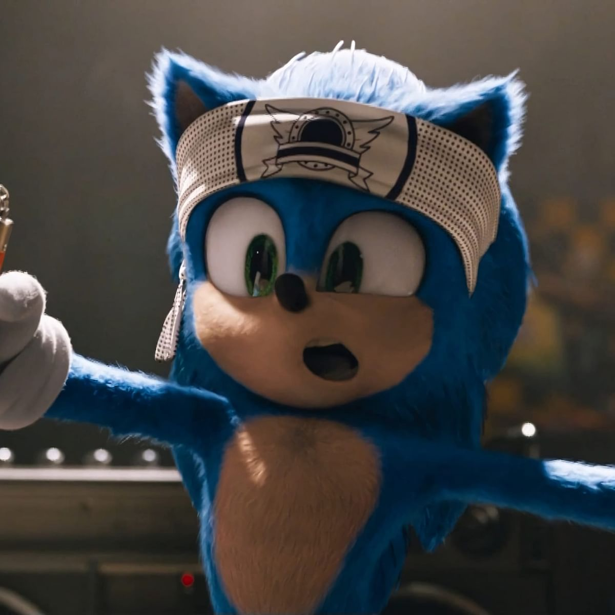 Movie Review:  Sonic The Hedgehog--Enjoyable comic adventure
