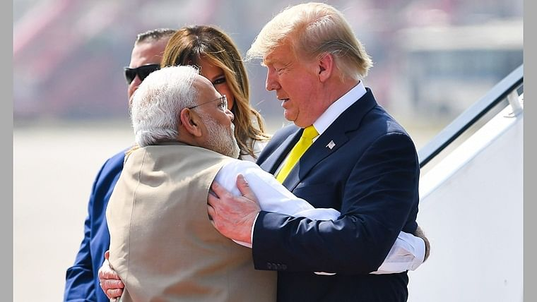 'Yeh toh shuruvaat hi hai...': President Donald Trump tweets in Hindi during India visit; says 'America loves India'