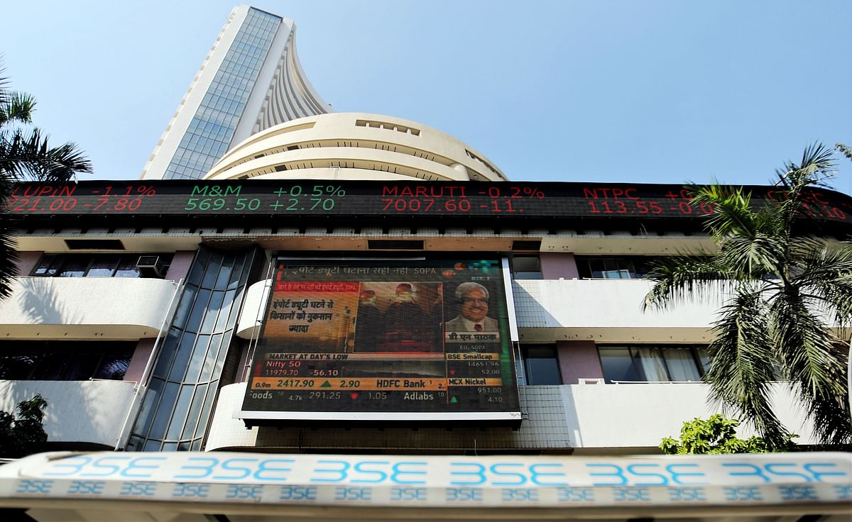 Market benchmark Sensex drops over 200 pts; Nifty near 11,600