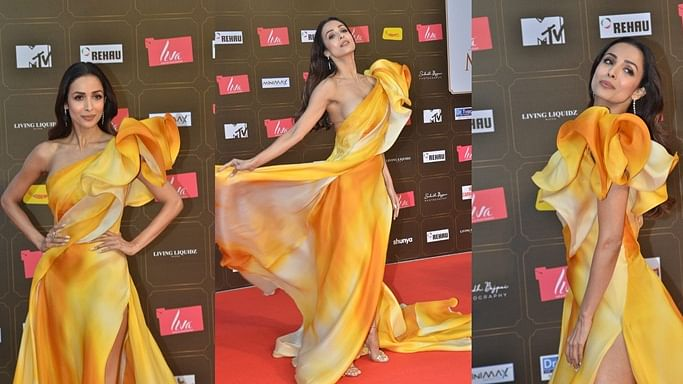 In pics: Malaika Arora looks enchanting in a golden gown, steals the limelight at Miss Diva 2020