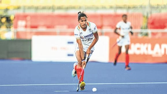 Indian Women's hockey team registered a 1-0 win against Great Britain