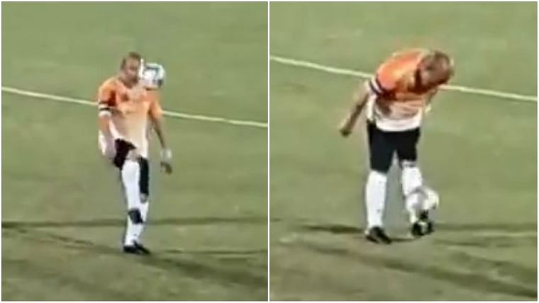 Messi who? Manipur CM Biren Singh shows how it's done on the football field