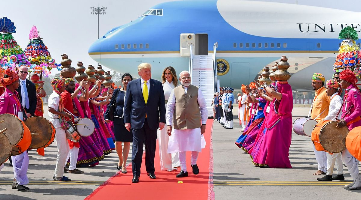 Donald Trump India visit Updates: US President and First Lady land at Agra airport; will visit Taj Mahal shortly