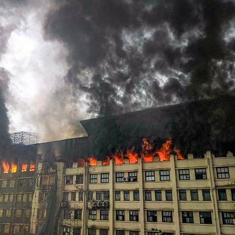 Mumbai Fire: Blaze at GST Bhavan in Mazgaon; no injuries reported