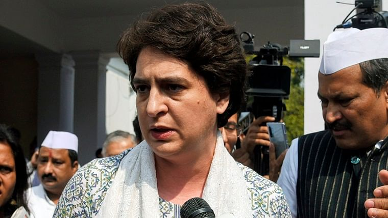 Priyanka Gandhi Vadra to hold virtual meet with UP Congress leaders to discuss strategy for 2022 Assembly polls