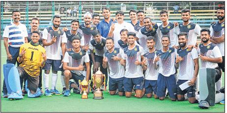 Jadhav hat-trick propels Navy to maiden Gold Cup