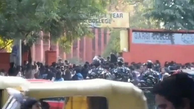 'Administration did nothing to control it': Delhi's Gargi College girls allege sexual assault as cops watched