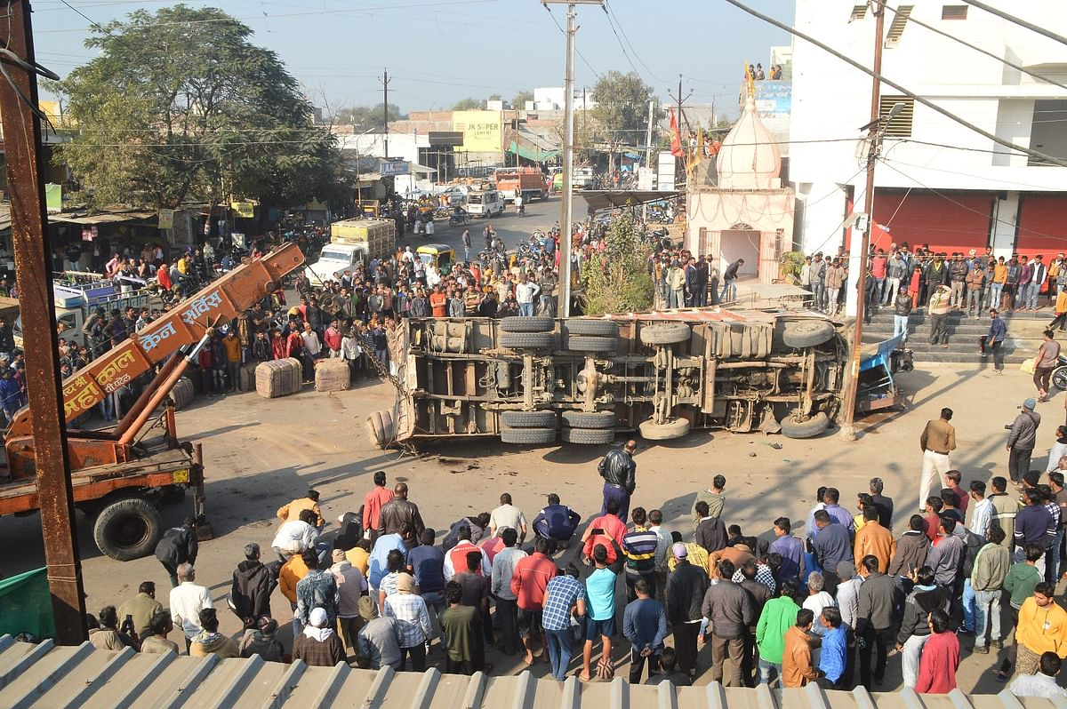 Ujjain: Two dead, one injured in road accident