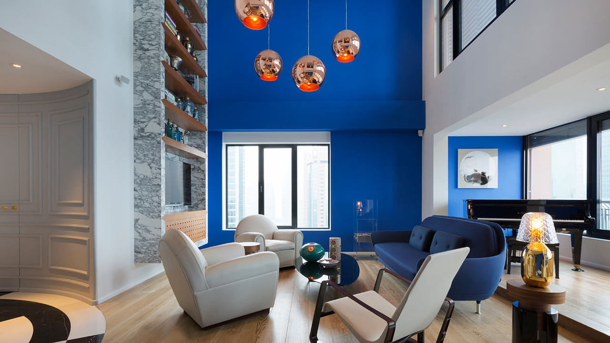 Let's go Blue; Pantone colour of the year