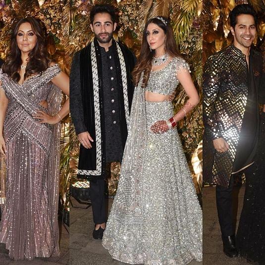 Armaan Jain's Wedding Reception: SRK-Gauri, Akash-Shloka, Varun-Natasha, and other celebs arrive in style