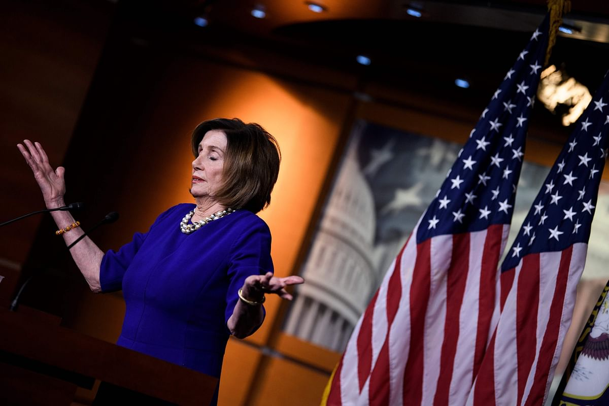 Nancy Pelosi defends tearing copy of Trump's speech