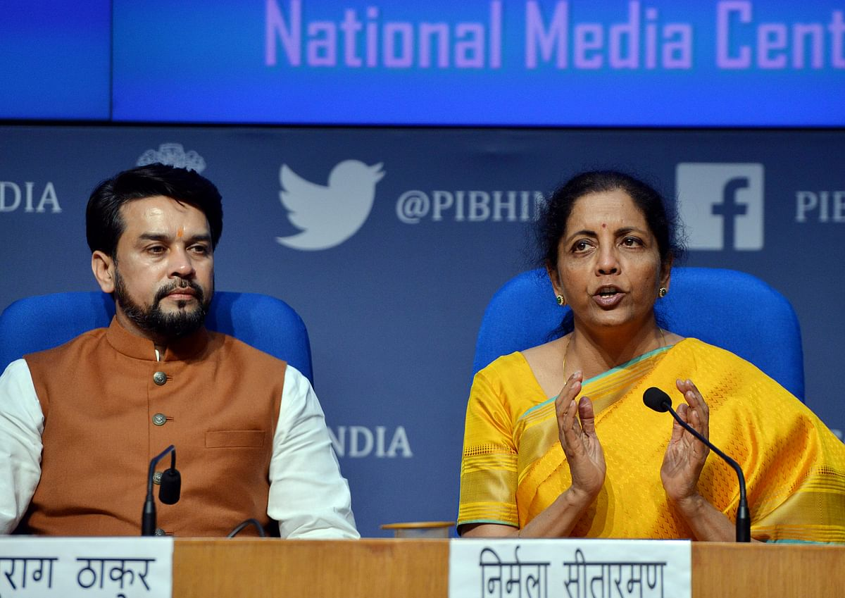 'BJP complicates whatever it wants to simplify': Twitter grapples with Nirmala's new tax slabs in Budget 2020