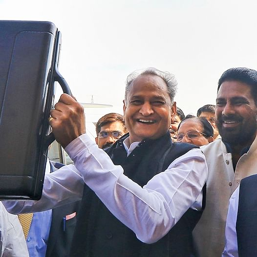 Rajasthan CM Ashok Gehlot presents his second Budget for 2020-21