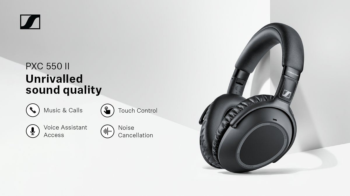 Sennheiser launches new PXC 550-II headphones