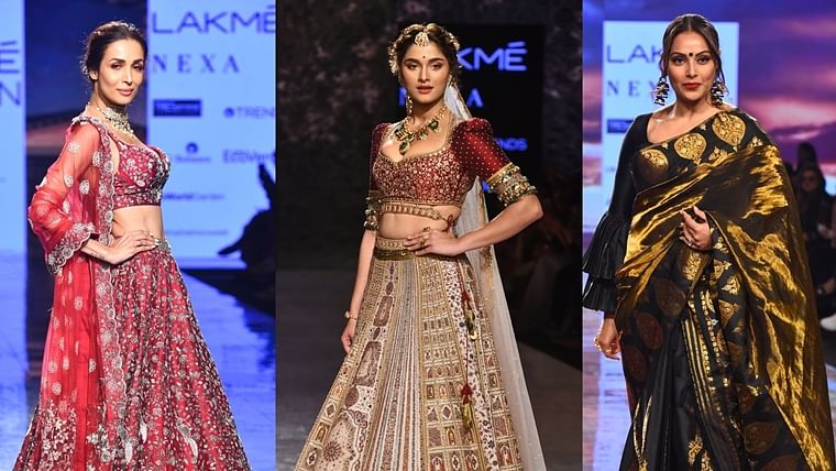 Bipasha Basu, Malaika Arora, Saiee Manjrekar turn showstoppers on LFW Day 3