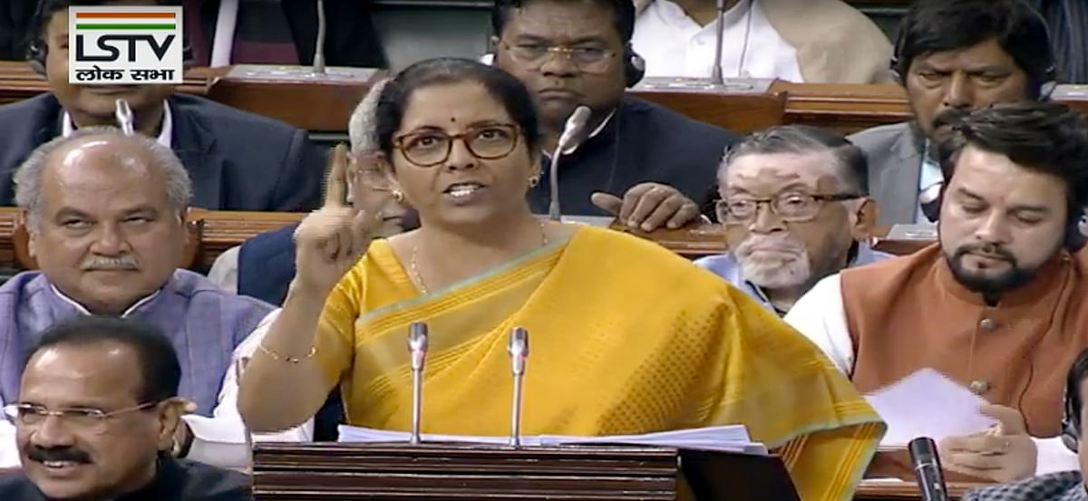 FM Sitharaman proposes extension of tax holiday for affordable housing projects by a year