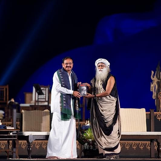 Maha Shivratri 2020: VP Venkaiah Naidu joins Sadhguru in celebrations at Isha Foundation