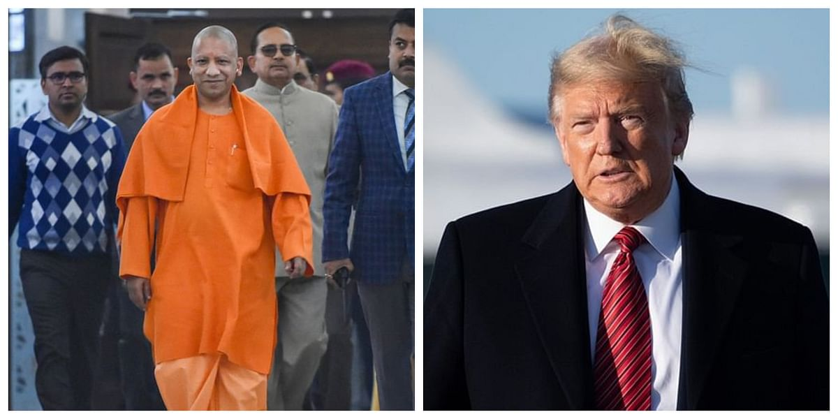 UP Governor, CM Yogi to welcome President Trump at airport in Agra: District Magistrate Prabhu N Singh