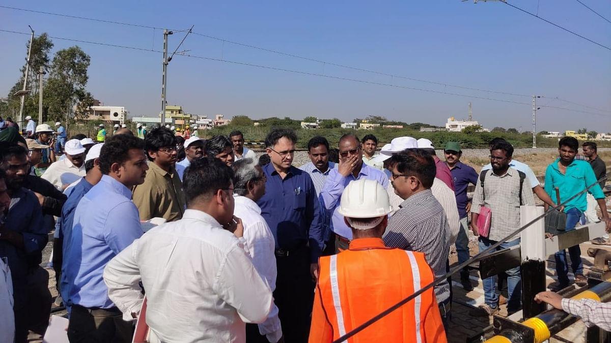 SWR electrifies 32 Rkm between Toranagallu & Kariganuru on Hubballi Division