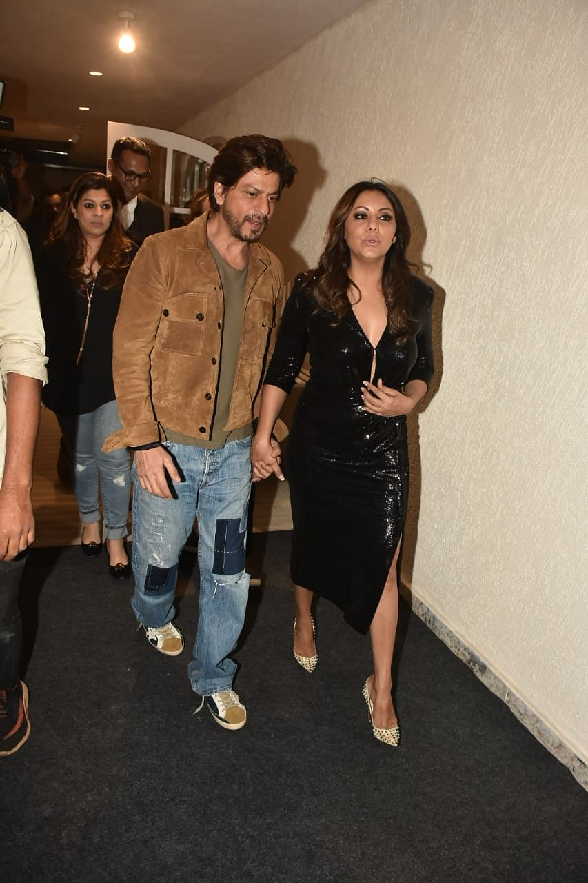Shah Rukh Khan and wife Gauri