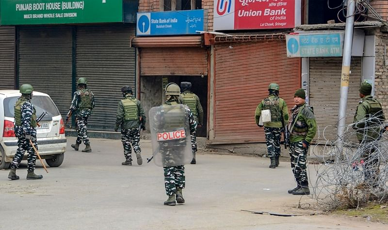 Woman killed, 2 CRPF personnel injured in Srinagar encounter with militants