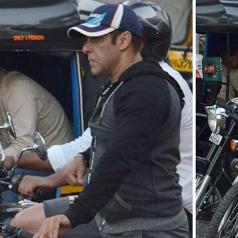 Despite busy schedule, Salman Khan goes cycling on the streets of Mumbai