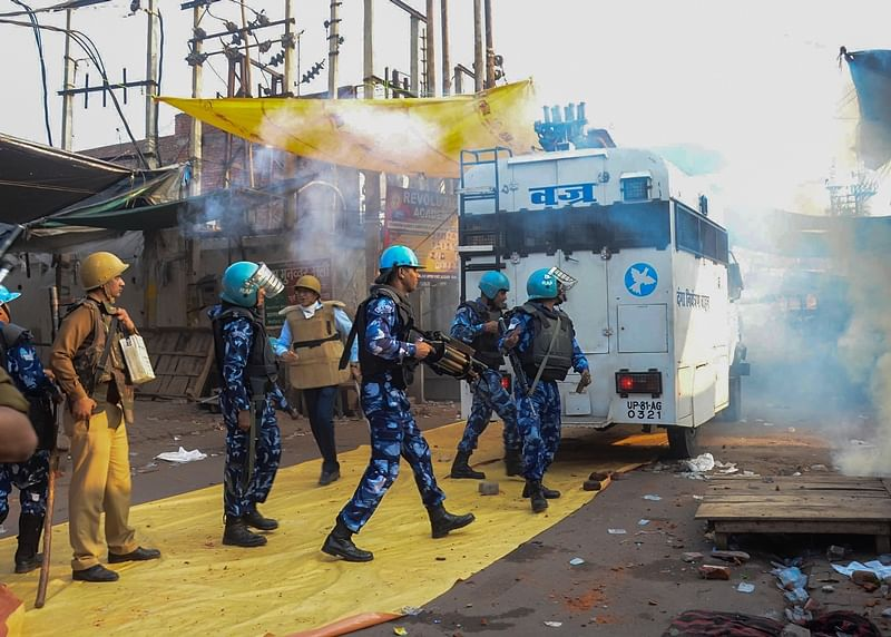 After CAA protest turns violent in Lucknow, rapid action force deployed; internet suspended