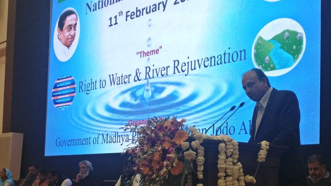 Ujjain: Dirty water of Indore & Dewas painful for Kshipra, says former Rotary Club governor Ravi Prakash Langar