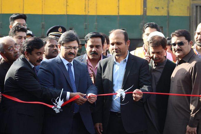 Pakistan Railways inaugurates 1st-ever Afghan transit cargo train service
