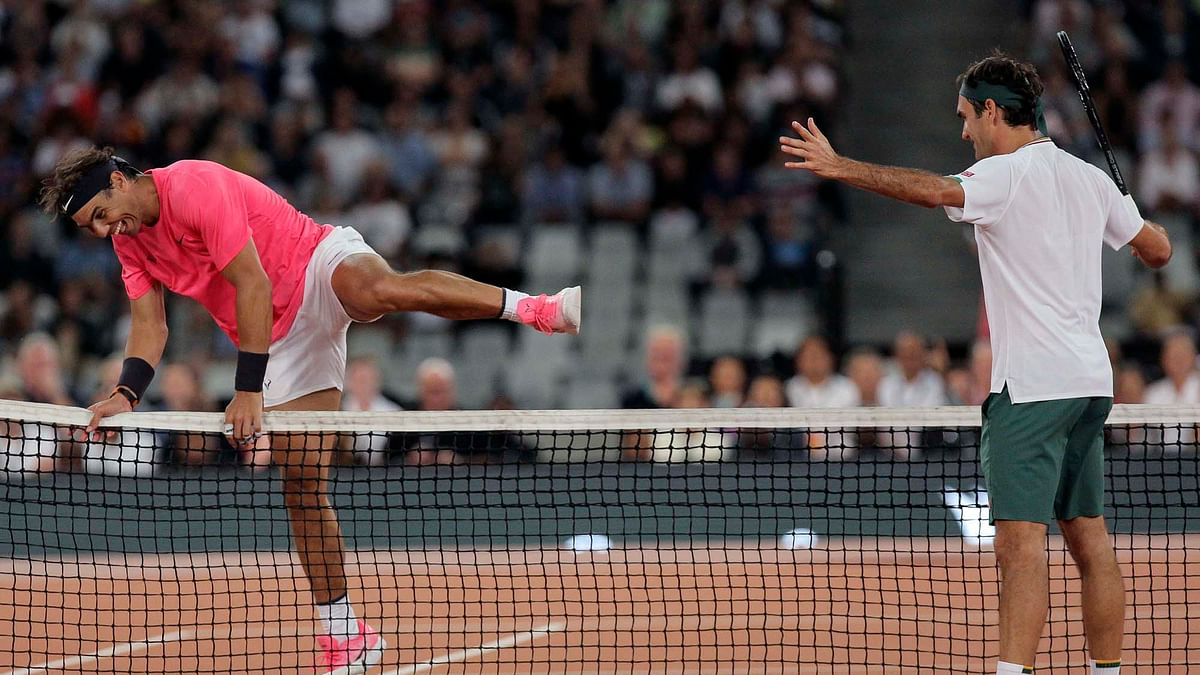 Federer, Nadal play to record hisghest sttendance at Tennis event