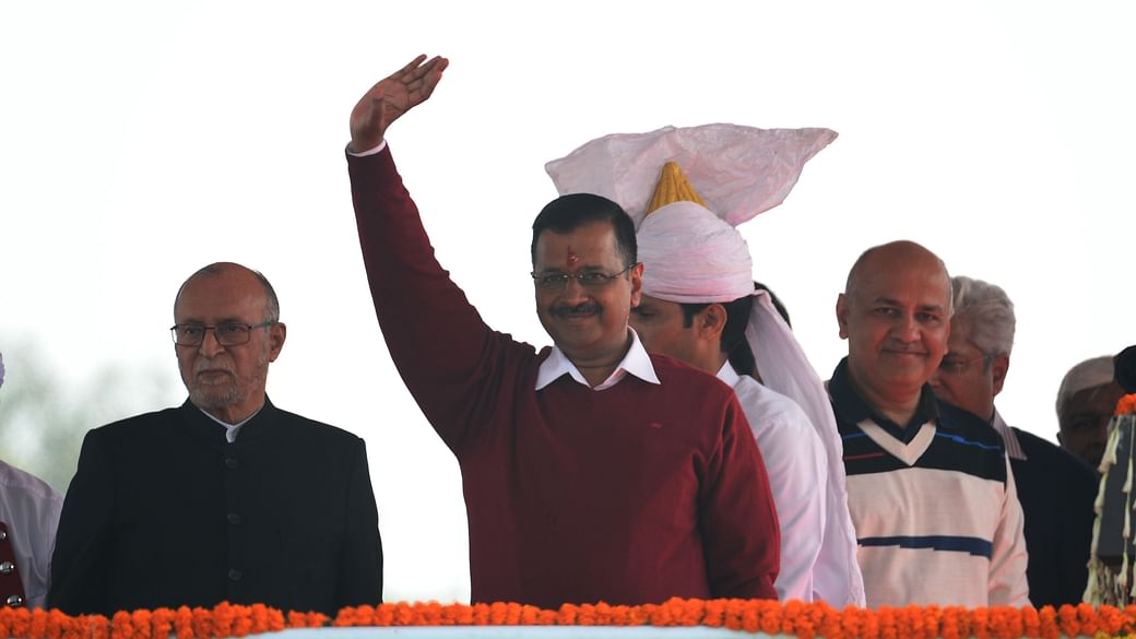 Image result for aap swearing in