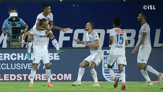 ISL: Chennaiyin FC shut doors on Mumbai FC's qualifying hope