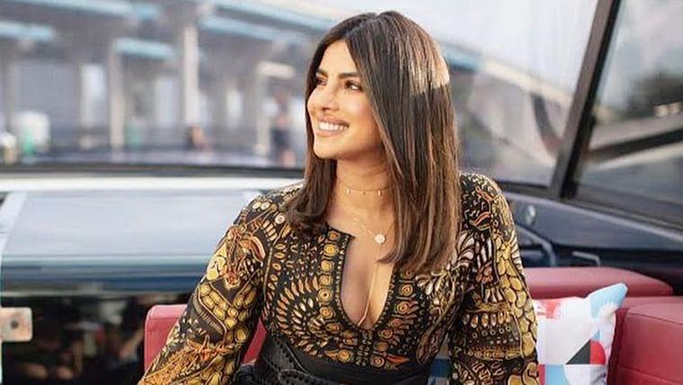 Priyanka Chopra exudes spring-summer vibes in her Dior ensemble worth Rs 4.3 lakh