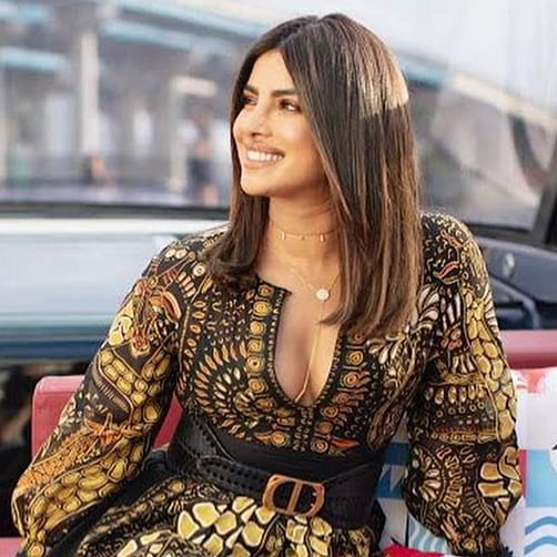 Priyanka Chopra exudes spring-summer vibes in her Dior ensemble worth Rs 4.3 lakh