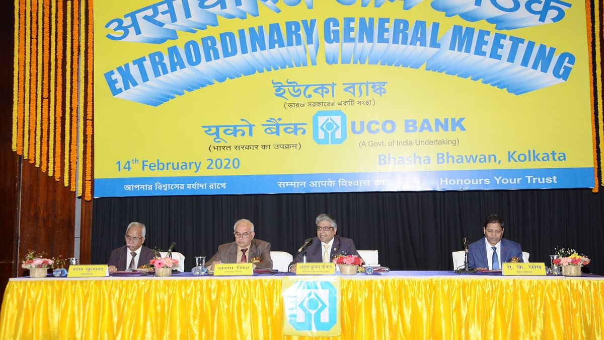 UCO Bank conducts Extraordinary General Meeting