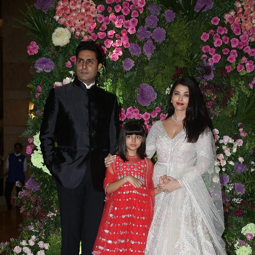 Watch: Aishwarya Rai Bachchan, Abhishek, and Aaradhya groove to 'Desi Girl' at family wedding