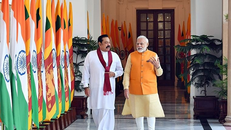 Hope Sri Lanka will fulfil aspirations of Tamil people: Modi after talks with Mahinda Rajapaksa
