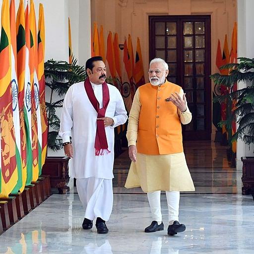 Hope Sri Lanka will fulfil aspirations of Tamil people: Modi after talks with Mahinda Rajapaksa