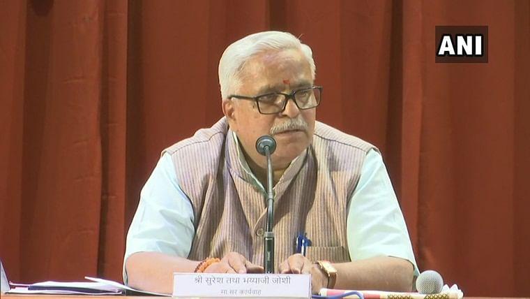 Opposing BJP does not amount to opposing Hindus: RSS leader Suresh Bhaiyyaji Joshi