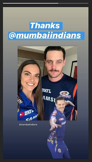 Mumbai Indians wish newly hitched Mitchell McClenaghan and wife 'a very happy married life'