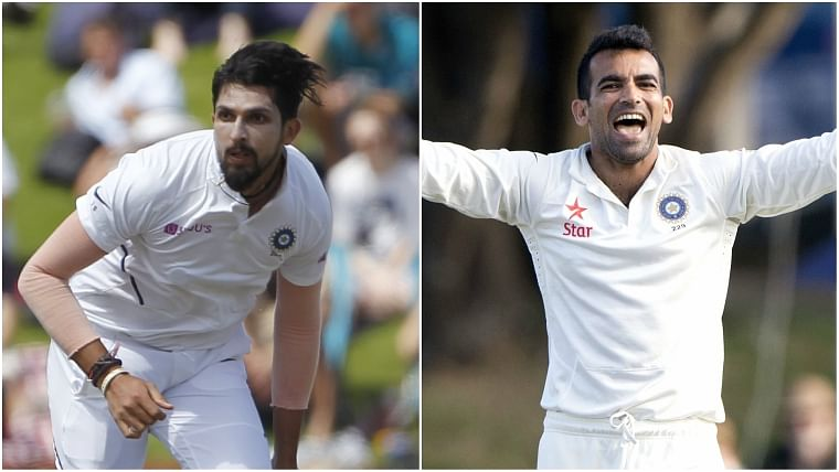 Ishant Sharma equals Zaheer Khan's magnificent Test record