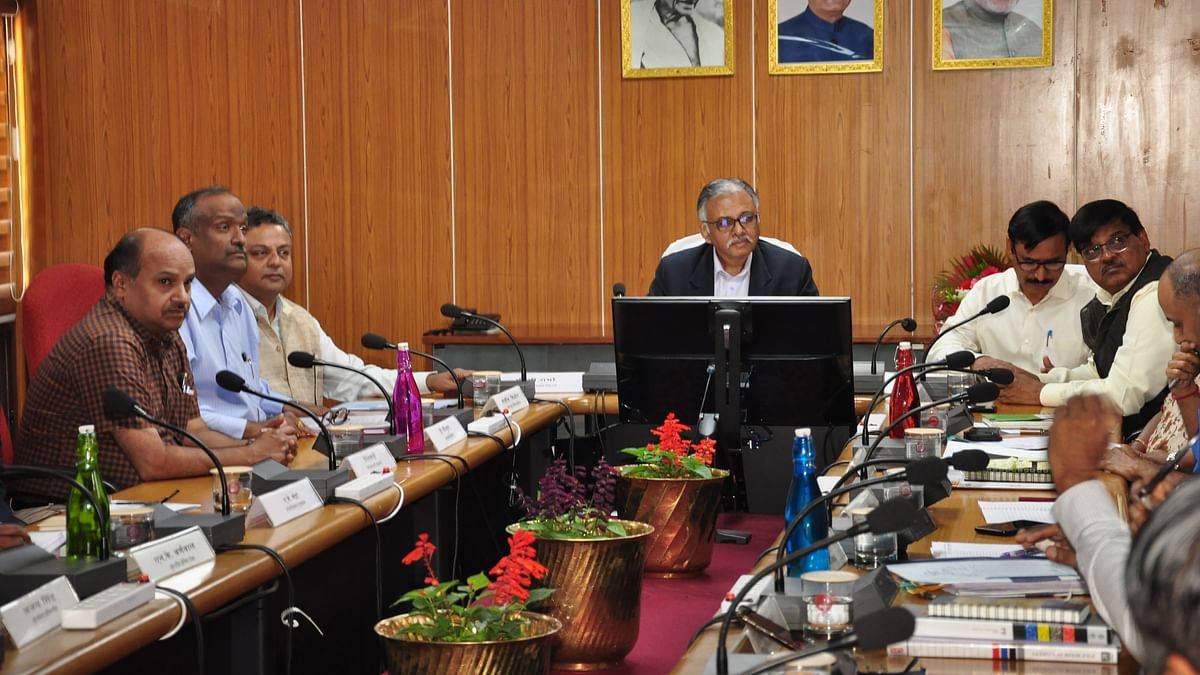 P.C. Sharma, Member Materials Management and Member Rolling Stock, Rly Board visits RWF
