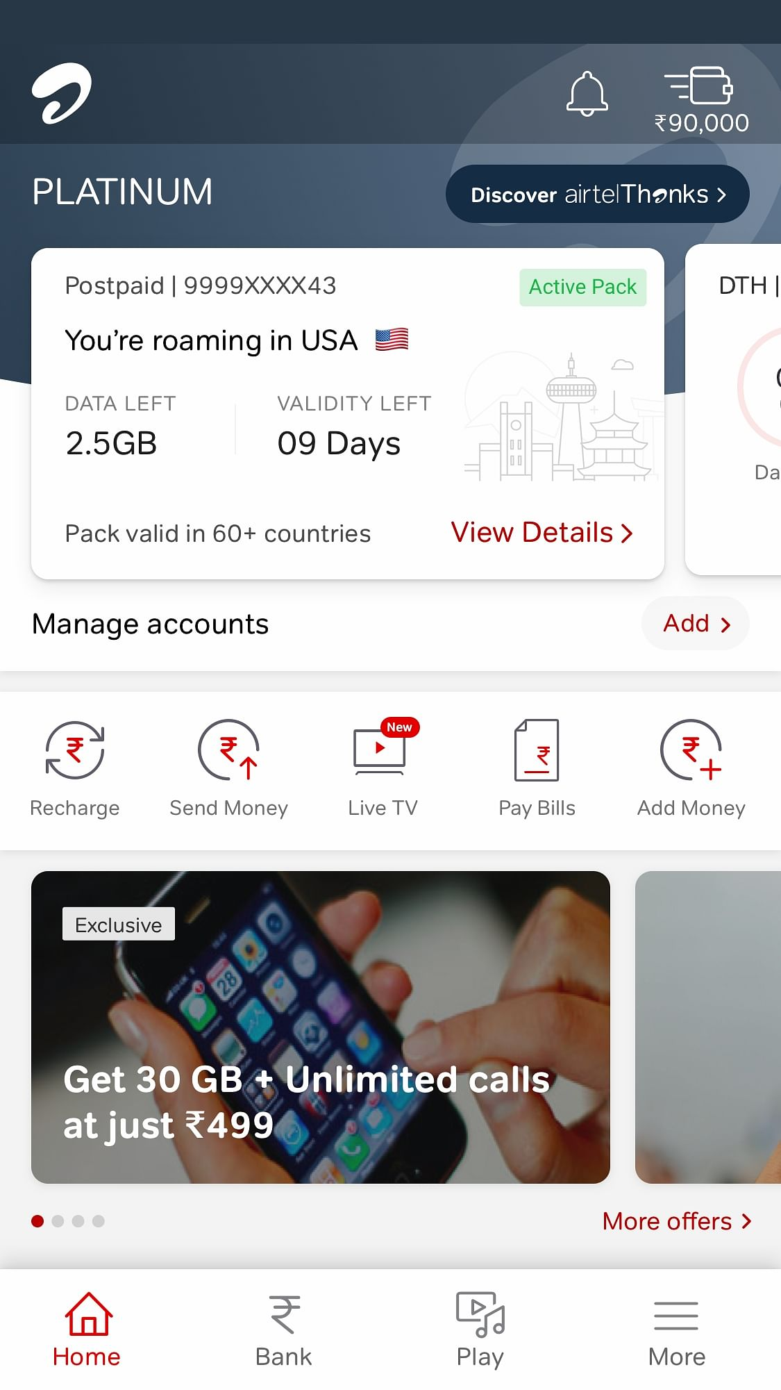 Airtel redefines international roaming with newly launched Global Packs