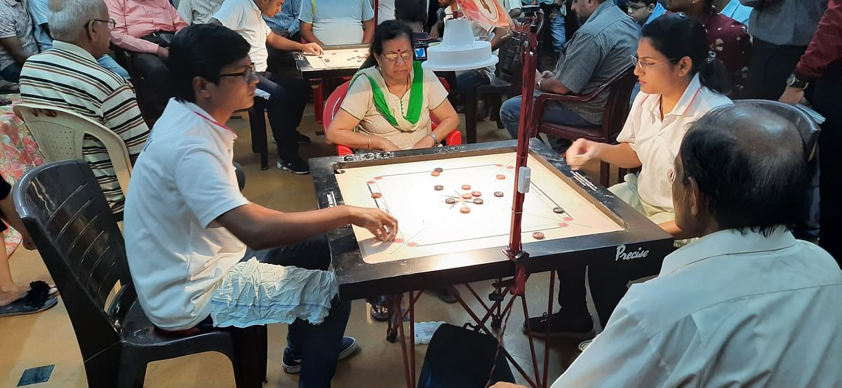 Nilam wins carrom championship in Mumbai