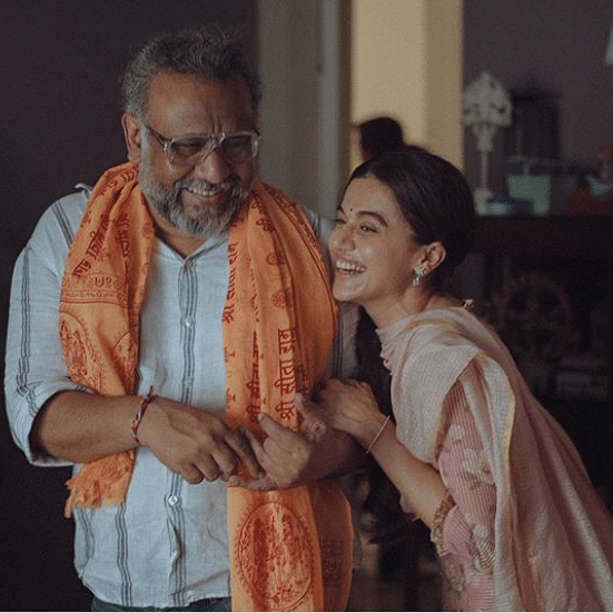 Taapsee Pannu pens down heart-warming note for Anubhav Sinha ahead 'Thappad'